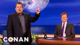 patton oswalt gives obama romney town hall meeting protips conan on tbs