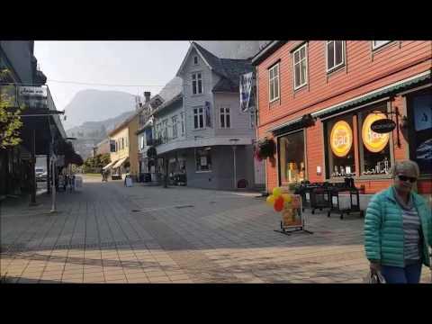 قرية اوددا النرويج   odda norway