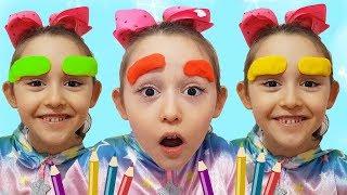 Öykü's Magic Paint pens - Fun kids video