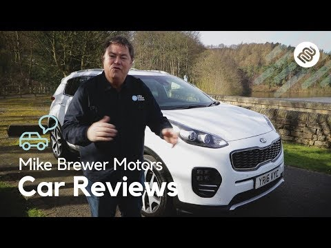 4th Generation Kia Sportage Review (2017) | Mike Brewer Motors