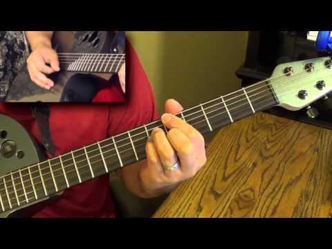 Guitar Tutorial - The Closer I Get to You - Peter White (R)