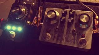 Jesse Davey mini F.U.Z.Z. pedal