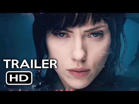 Ghost in the Shell Trailer + Super Bowl Trailer (2017) Scarlett Johansson Sci-Fi Movie HD