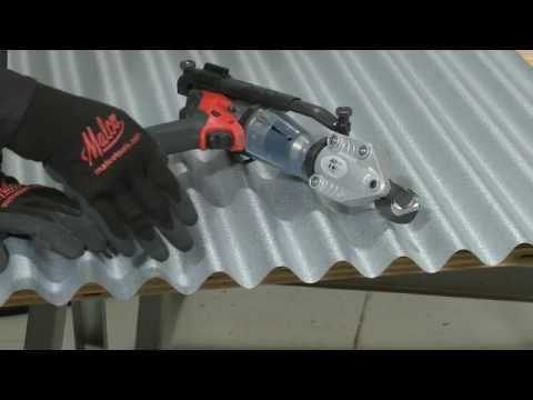 Malco Metal Roofing Corrugated Metal Cutting Turboshear