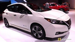 2018 Nissan Leaf - Exterior and Interior Walkaround - 2017 LA Auto Show