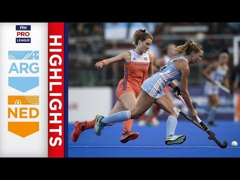 Argentina v Netherlands | Week 6 | Women's FIH Pro League Highlights