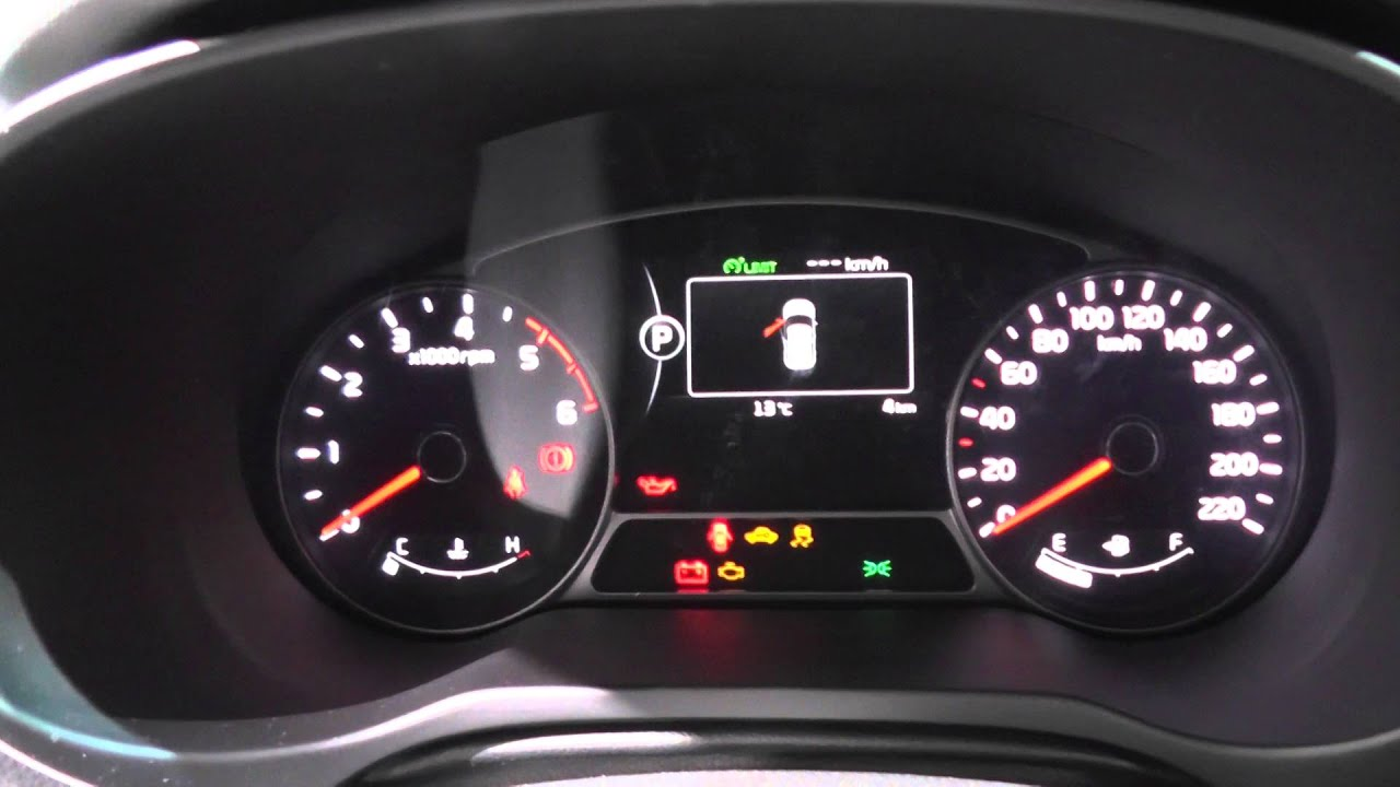Kia Soul Mk2 Dash Warning Lights Interior Look Around