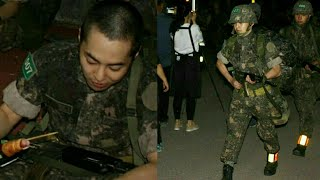 XIUMIN MOMENT OF MILITARY
