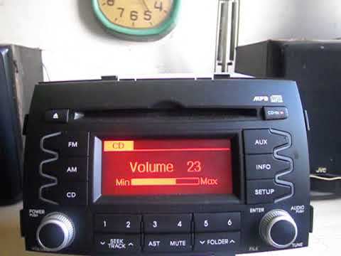 Radio Mp3 Original KIA
