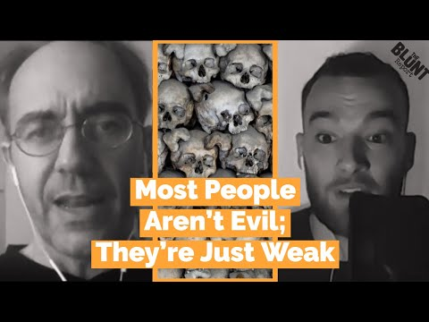 """I Don't Think Most People Are Evil, I Think Most People Are Weak"" - Historian Daniele Bolelli  Daniele Bolelli is a Historian,..."