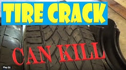 Tire Safety Check -  Don't Drive on Crack!