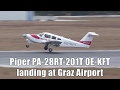 Airlink Piper PA-28RT-201T landing at Graz Airport | OE-KFT