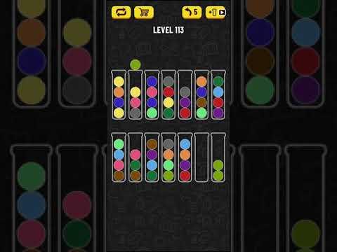 Ball Sort Puzzle Level 113 Youtube