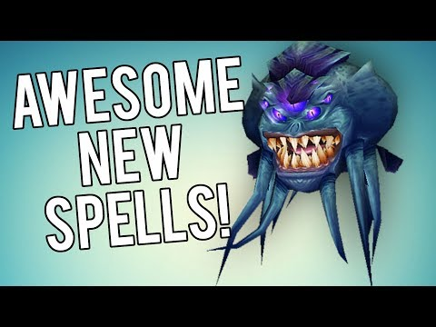 BFA New Spell Animations! (This Is Awesome) - WoW Legion 7.3.5