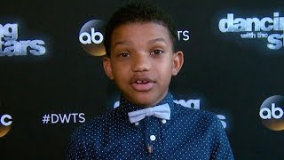 'This Is Us' Star Lonnie Chavis Goes Backstage With Final 3 'DWTS' Contestants