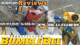 Bumblebee vs Blitzwing fight  in Stop Motion BUMBLEBEE The Movie
