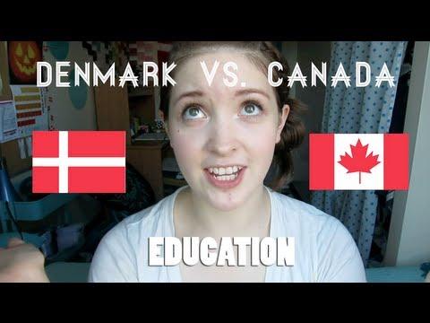 Denmark vs Canada | Education