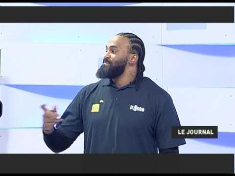 Interview Ronny Turiaf - Tele Congo - Jr NBA League