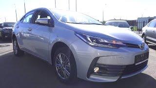 2018 Тойота Королла. Обзор (Интерьер, Экстерьер, Двигатель).