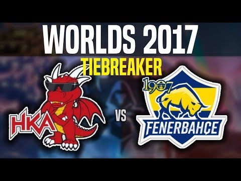 HKA vs FB Tiebreaker Worlds 2017 Play In Day 4 - Hong Kong Attitude vs 1907 Fenerbahçe | Worlds 2017