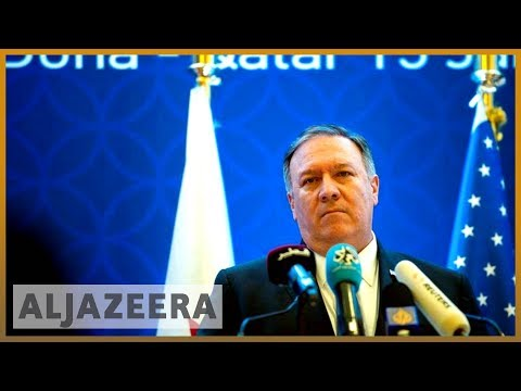 🇺🇸 🇶🇦 Analysis: Pompeo pushes for end to Gulf dispute during Qatar visit l Al Jazeera English