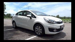 видео KIA Rio Sedan