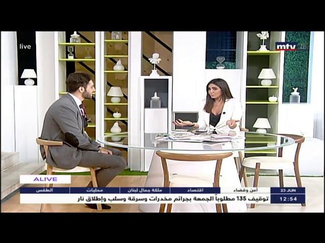 Super inspiring interview LIVE on MTV Lebanon!†