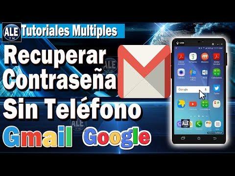 Como Recuperar Contraseña De Gmail – O Google En Celular | Sin Numero, Ni Correo | ACTUALIZADO