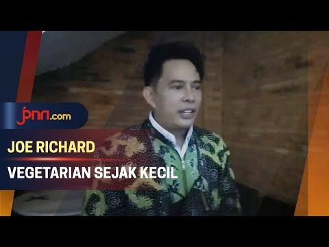 Joe Richard Tak Konsumsi Daging Sejak Kecil