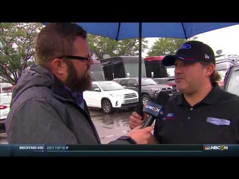 2018 Brickyard 400  Tony Stewart Interview on NASCAR on NBCSN