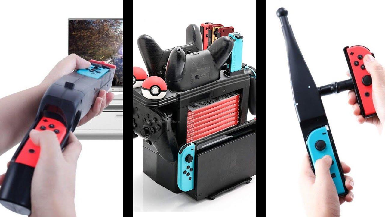 😂 compré los 3 ACCESORIOS de Nintendo Switch MÁS ABSURDOS e INÚTILES de Aliexpress