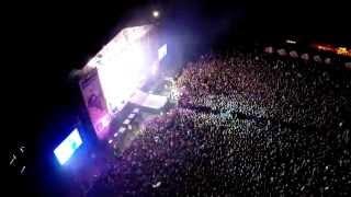 Koncert zespołu SABATON na Śnieżka Czad Festiwal 2014