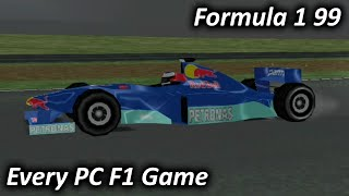 Formula 1 99 (1999) - Every PC F1 Game