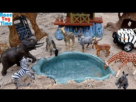 Zoo Animals Toys For Kids - Learn Animal Names