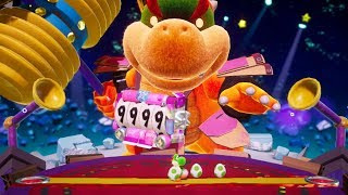 Yoshi's Crafted World - Final Boss Baby Bowser