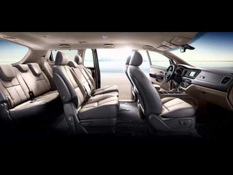 2016 kia sedona interior youtube. Black Bedroom Furniture Sets. Home Design Ideas