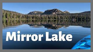 Mirror Lake, Utah - Camṗing just a bit closer to heaven!