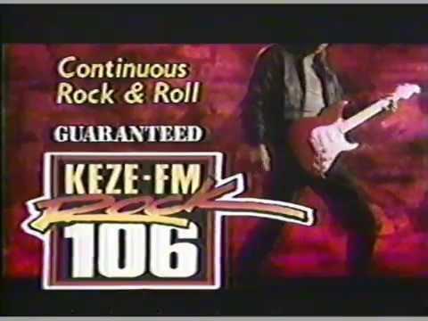 1991 KEZE FM Rock 106 Commercial