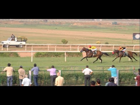 Spectacular Mumbai Horse Race 2017 at Mahalaxmi Race Course - Wonderful Atmosphere & Skyline !!!