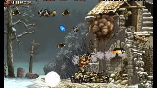 Metal Slug - Super Vehicle-001 - Metal Slug - Mission 3 Perfect Run - User video
