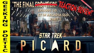 STAR TREK: PICARD Episode 10 REACTION & REVIEW!