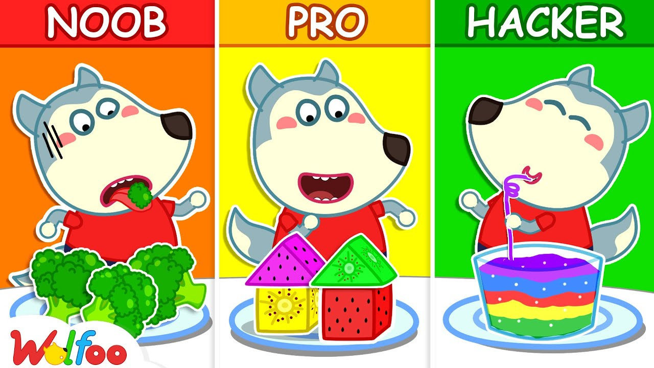 Wolfoo With Yummy Fruits and Vegetables - Wolfoo Learns Healthy Habits for Kids | Wolfoo Family