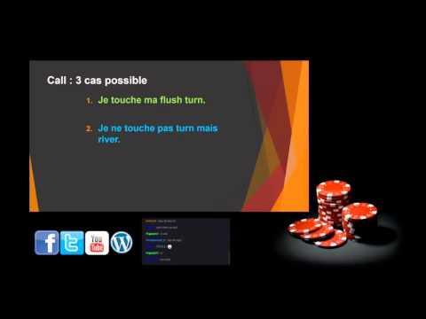 Coaching poker tournoi (MTT) 29/10/15 Le Raise ou le Check/Raise au flop