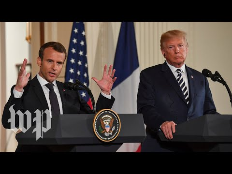Macron: France wants to work on 'new deal' on Iran