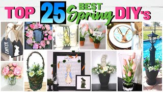 25 Absolute Best Spring Diy Home Decor Projects On A Budget!