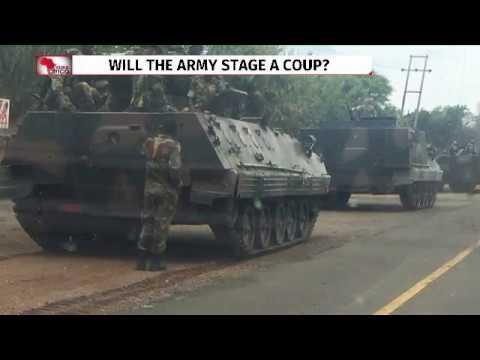 Zimbabwe military says seizes power to stop 'criminals', President Mugabe safe