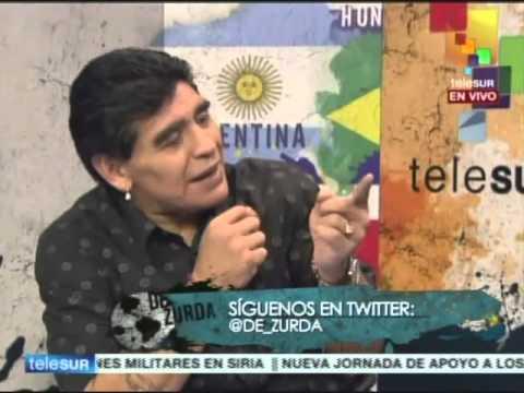 De Zurda, 22 junio 2014: el Gol del Siglo con Maradona, Victor Hugo, Héctor Enrique y Gary Lineker