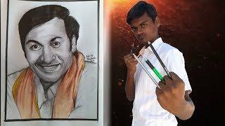 Art work of Dr. Rajkumar