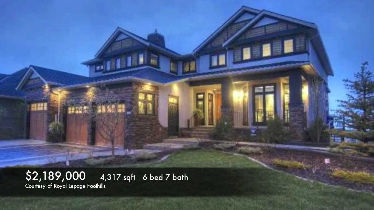 Superior 8 Most Expensive Homes In Aspen Woods   Calgary Luxury Real Estate  Marketing By Ross PAVL   YouTube