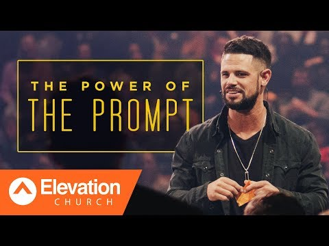 God's promises start with a prompting. | Gamechanger | Pastor Steven Furtick